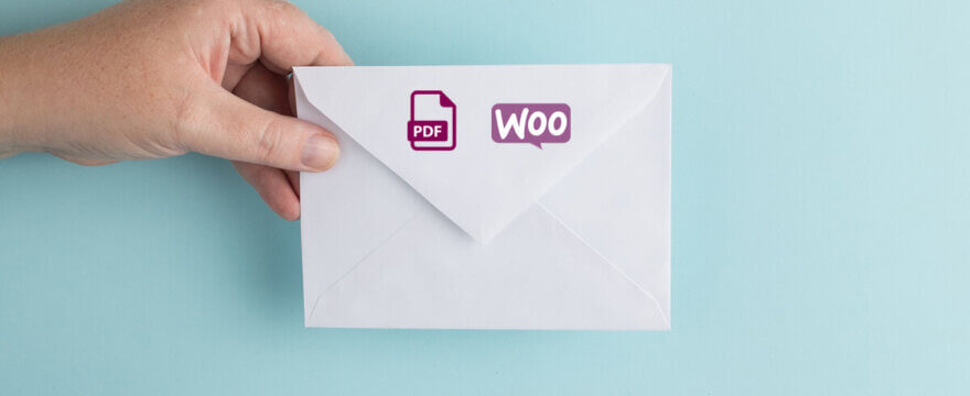 How to set emails in WooCommerce and send a PDF invoice automatically?
