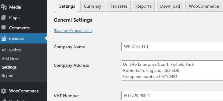 Flexible Invoices Company Details